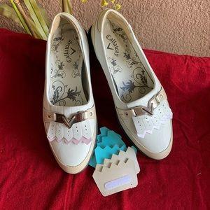 Callaway Women's Koko Golf  White/Bone Shoes